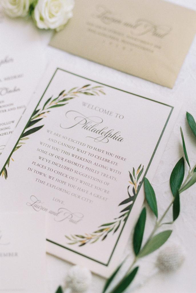 L + P // Classic Elegant Wedding at The Free Library of Philadelphia